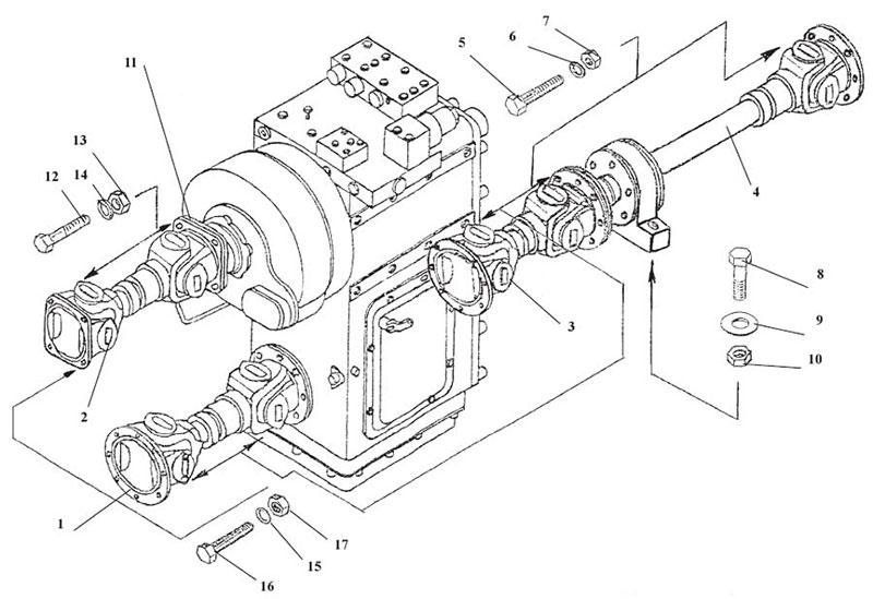 Вал карданныйКИС-01.04040-20 - Gidrorul